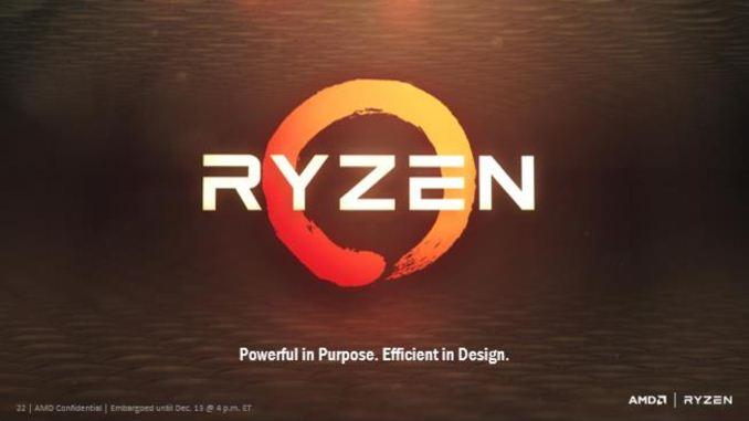 AMD Gives More Zen Details: Ryzen, 3 4 GHz+, NVMe, Neural