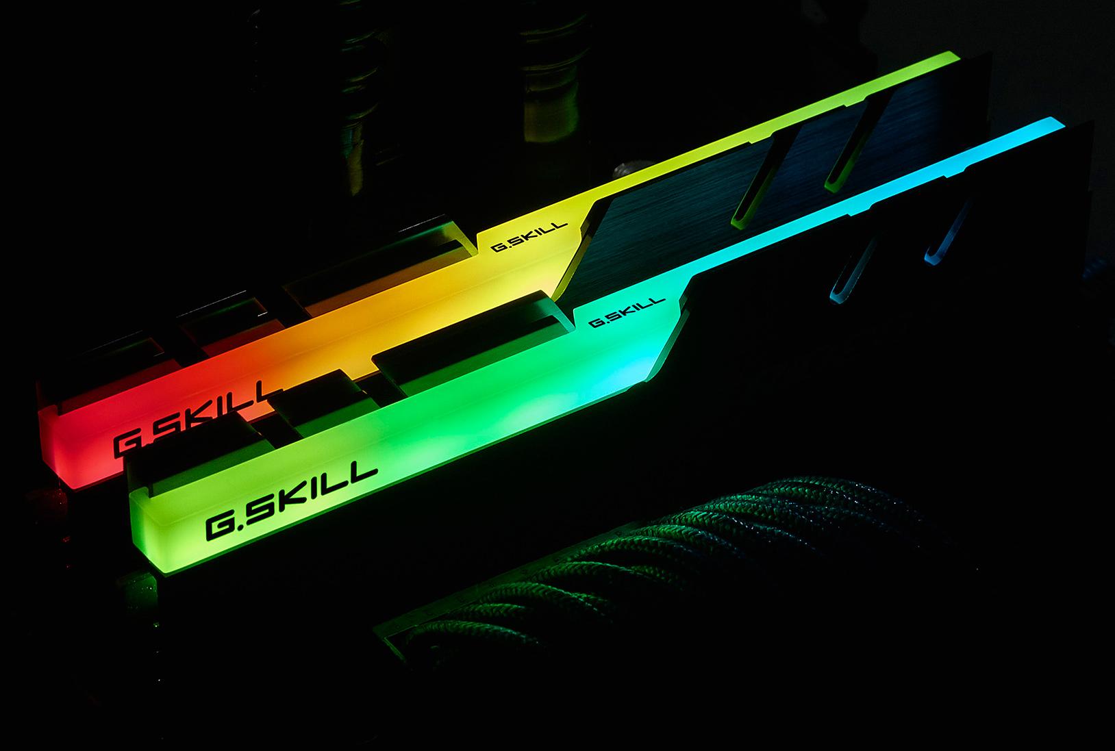 G Skill Announces Trident Z Rgb Illumination To Ddr4