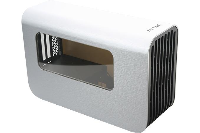 Zotac readies external gpu enclosure tb3 400 w psu due for Mac due the box