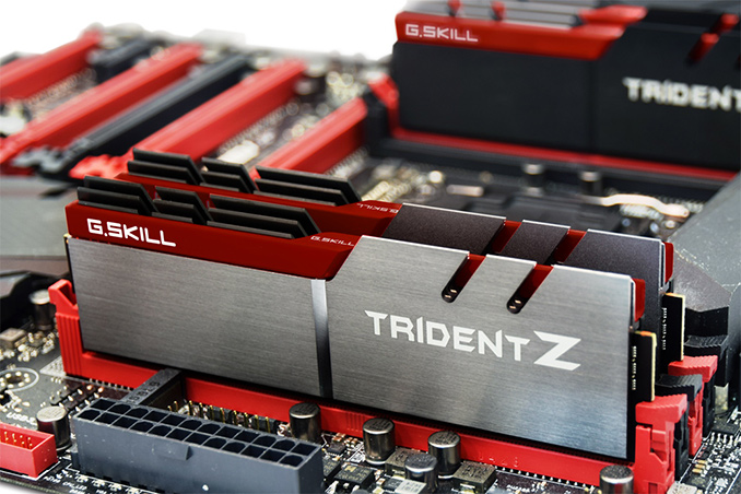 G.Skill Announces Trident Z DDR4 DIMMs for Kaby Lake CPUs