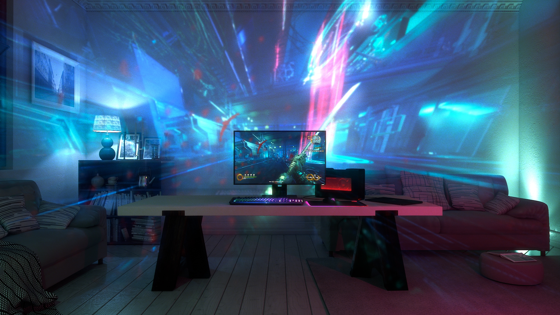 Razer Announces Project Ariana: Chroma Lighting Comes To The Room