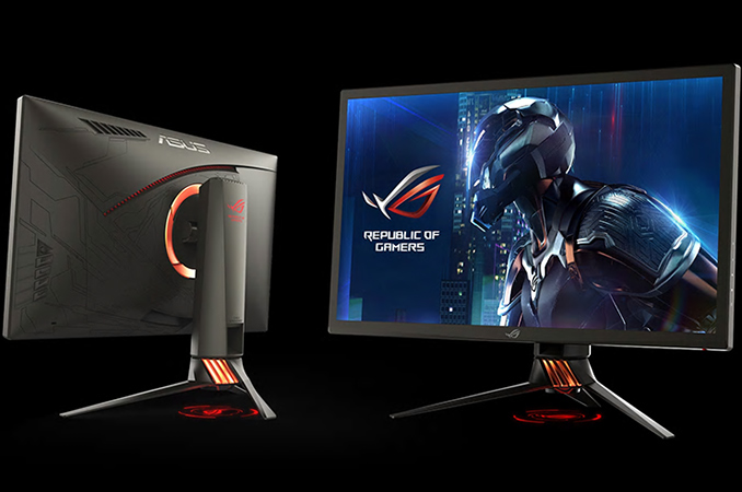 ASUS Demonstrates ROG Swift PG27UQ: 4K, 144 Hz, HDR, DCI-P3 and G-Sync
