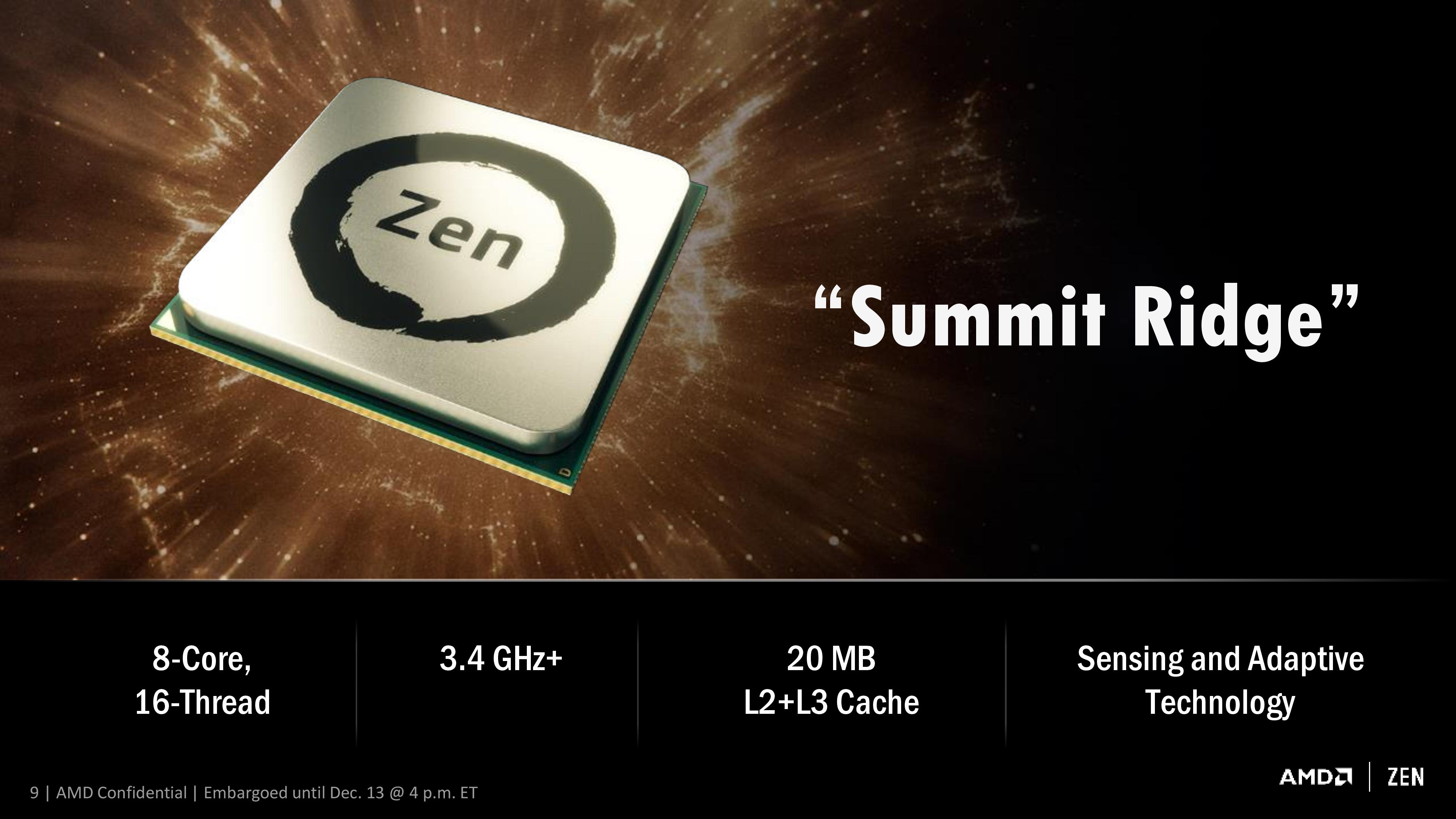 AMD Set to Launch Ryzen Before March 3rd, Meeting Q1 Target