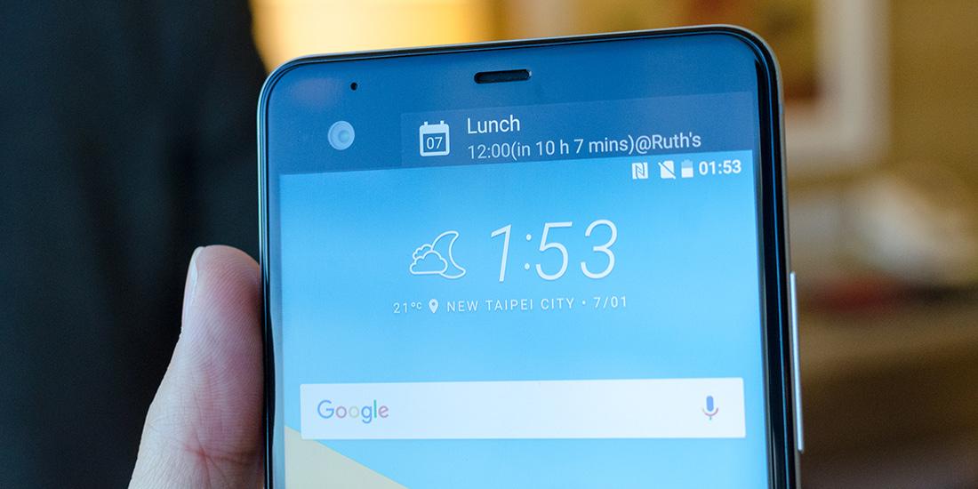 HTC_U_Ultra-Secondary_Display HTC Announces New Telephones For U: HTC U Participate in and HTC U Ultra