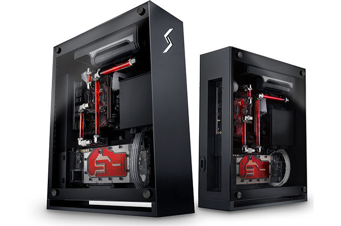 Digital storm bolt x a kaby lake based sff pc with custom - Colore case esterno ...