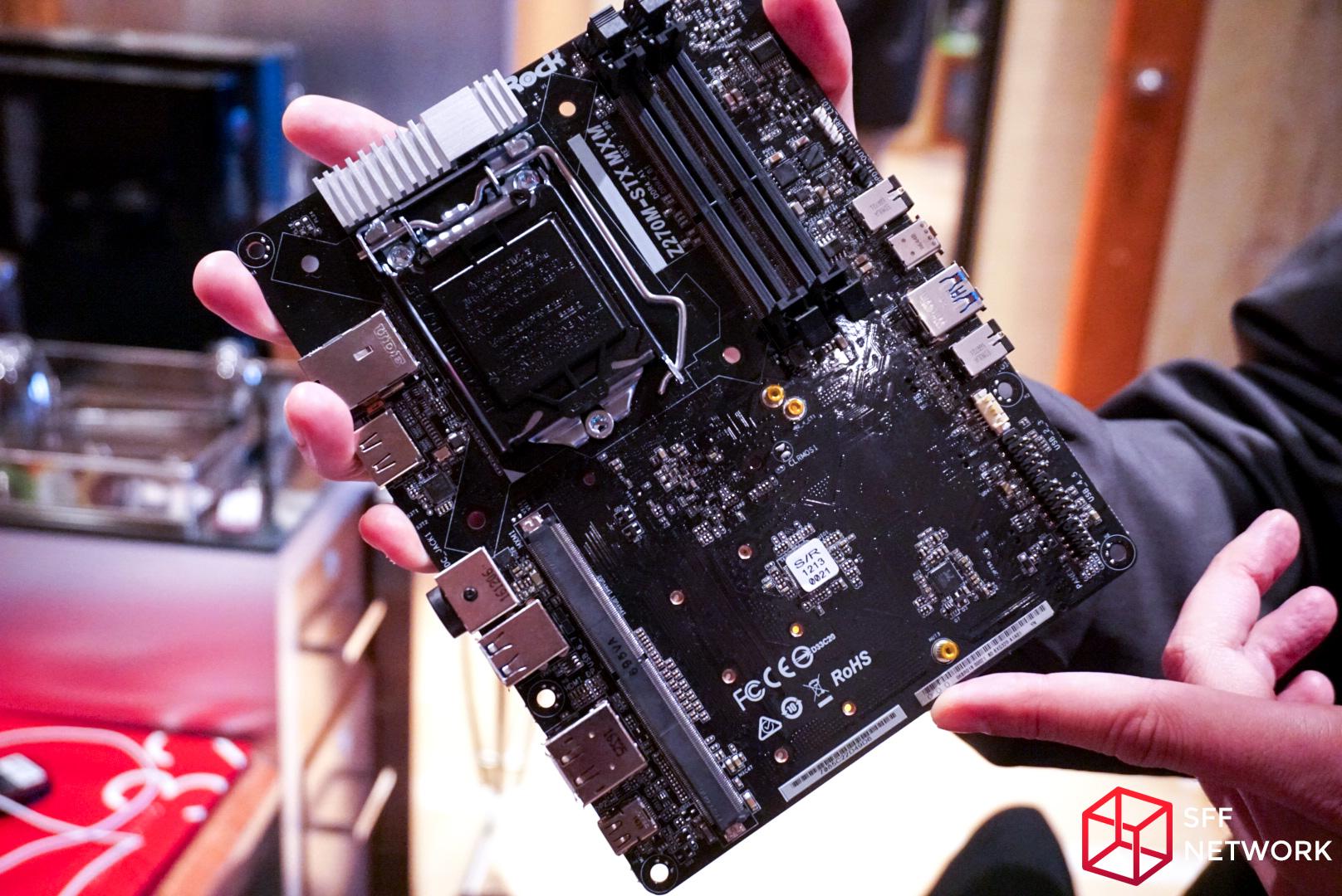 ASRock Shows DeskMini GTX/RX, using Micro-STX Motherboard with MXM