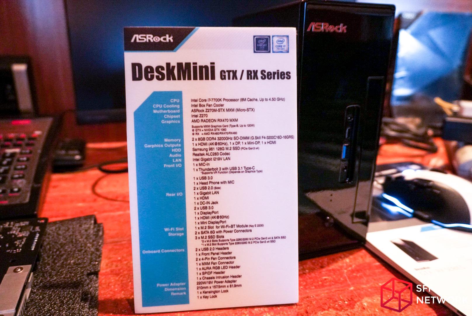 ASRock Shows DeskMini GTX/RX, using Micro-STX Motherboard