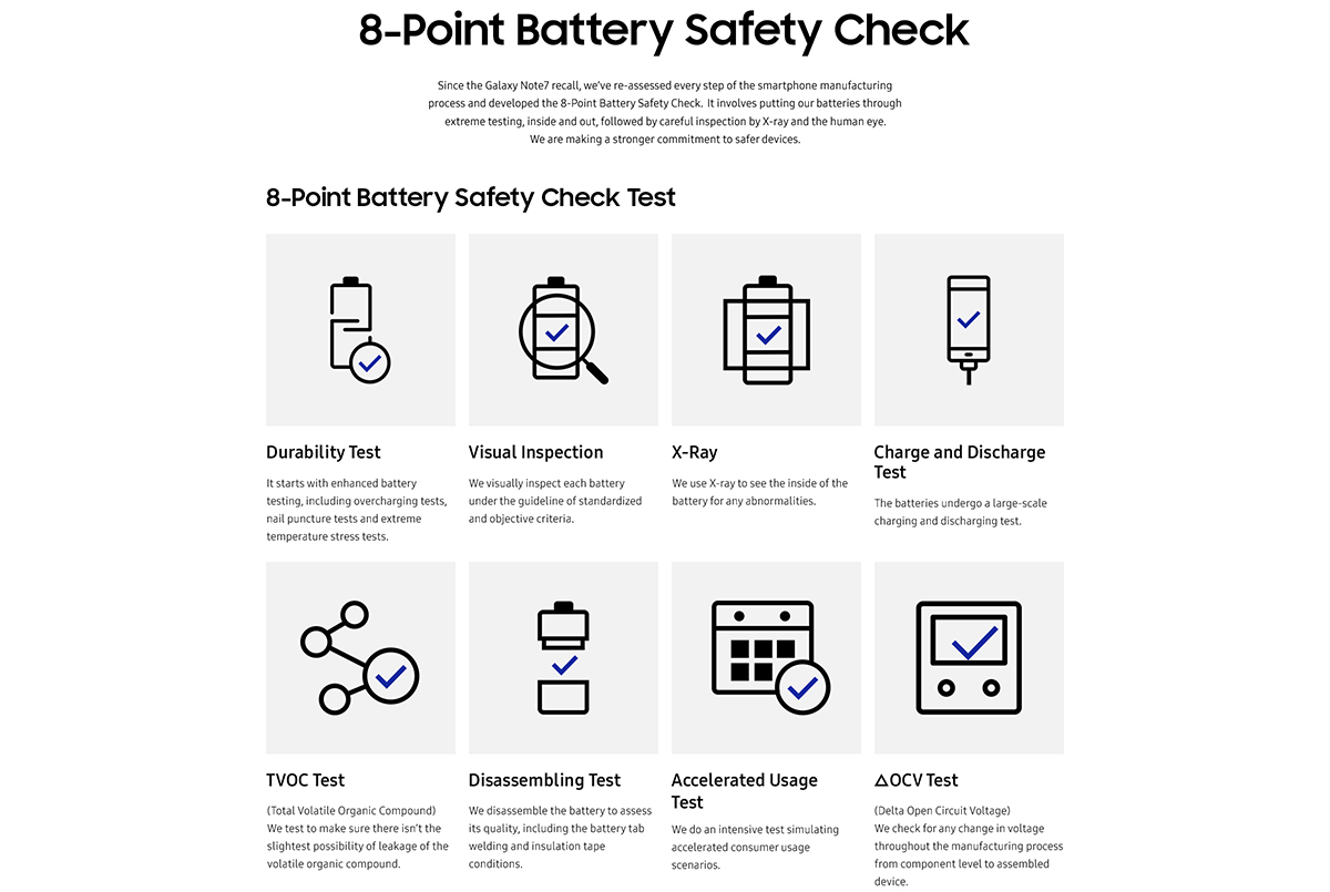 Samsung Reveals Root Cause Of Galaxy Note7 Battery Fires Fishbone Diagram Welding Defects Is Eager To Move Past The And Begin Process Regaining Consumer Trust Which One Reason Why Its Sharing Results