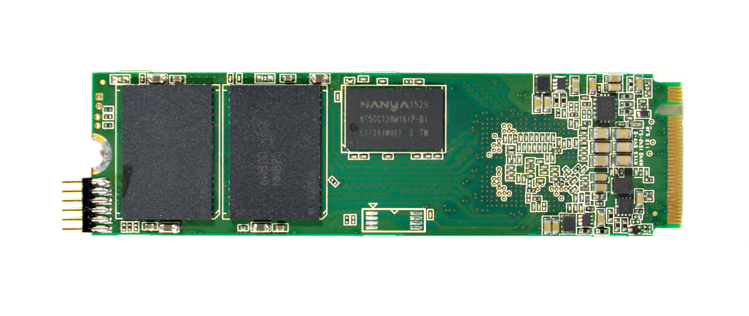 Previewing Silicon Motion Sm2260 Nvme Controller With 3d Mlc Nand Circuit Board 512gb