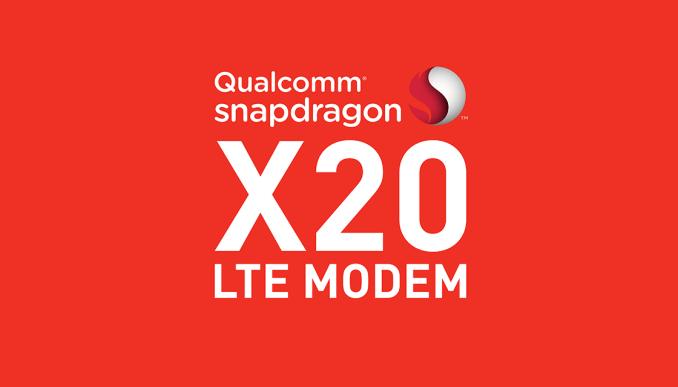 Qualcomm Announces Snapdragon X20 LTE Modem & New RF Front