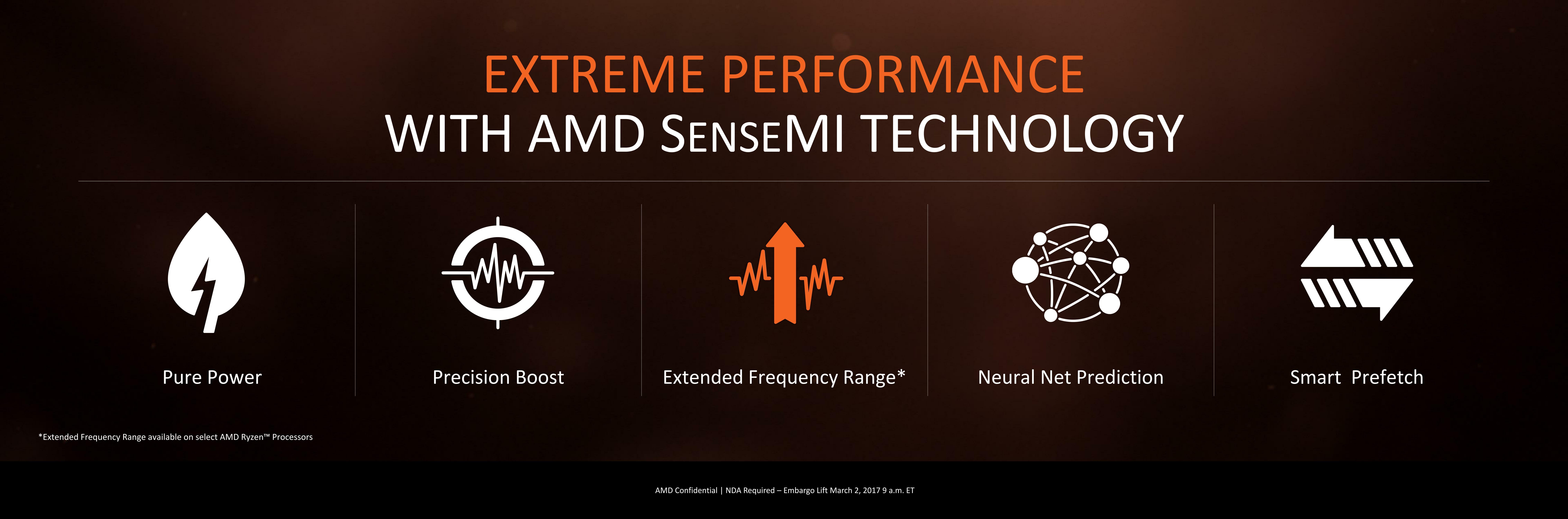 Power, Performance, and Pre-Fetch: AMD SenseMI - The AMD Zen