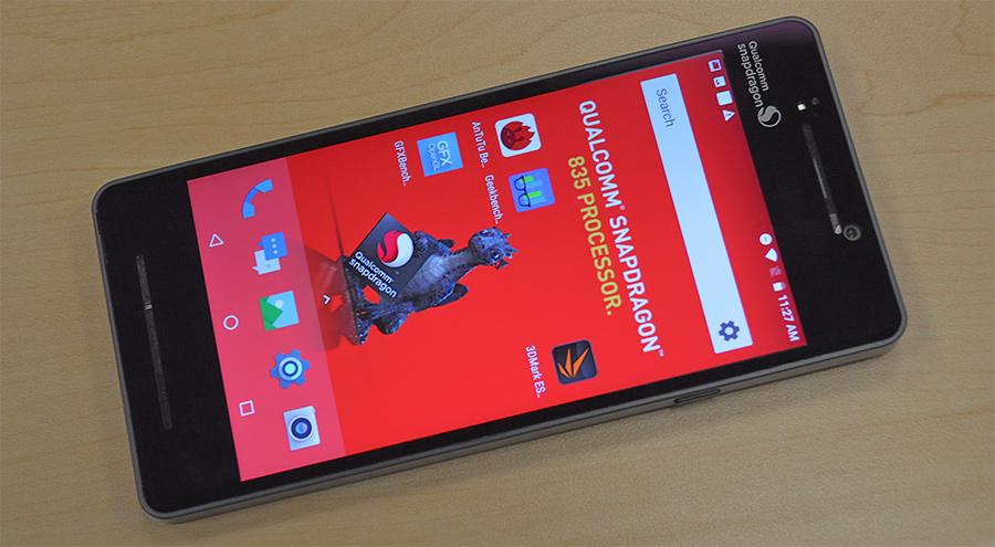 Qualcomm Snapdragon 835 benchmark tests impressive against current offerings