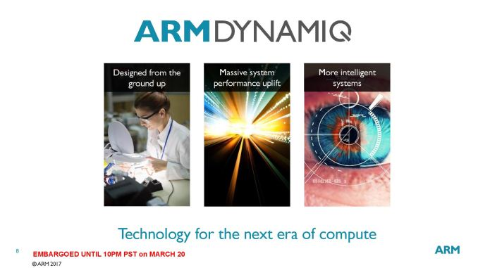 ARM announces its flexible DynamIQ microarchitecture