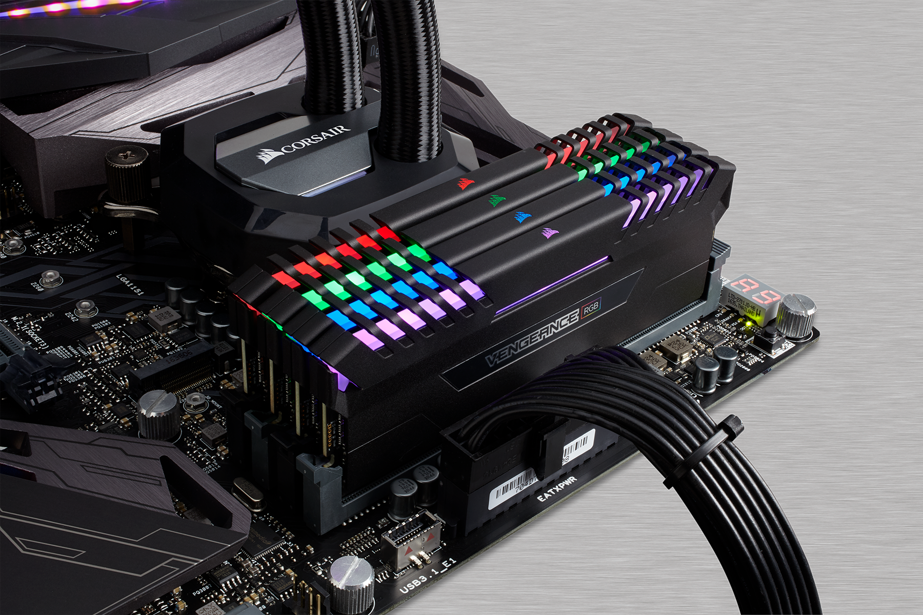 Corsair Vengeance RGB DDR4 Memory Modules with LEDs Now on ...