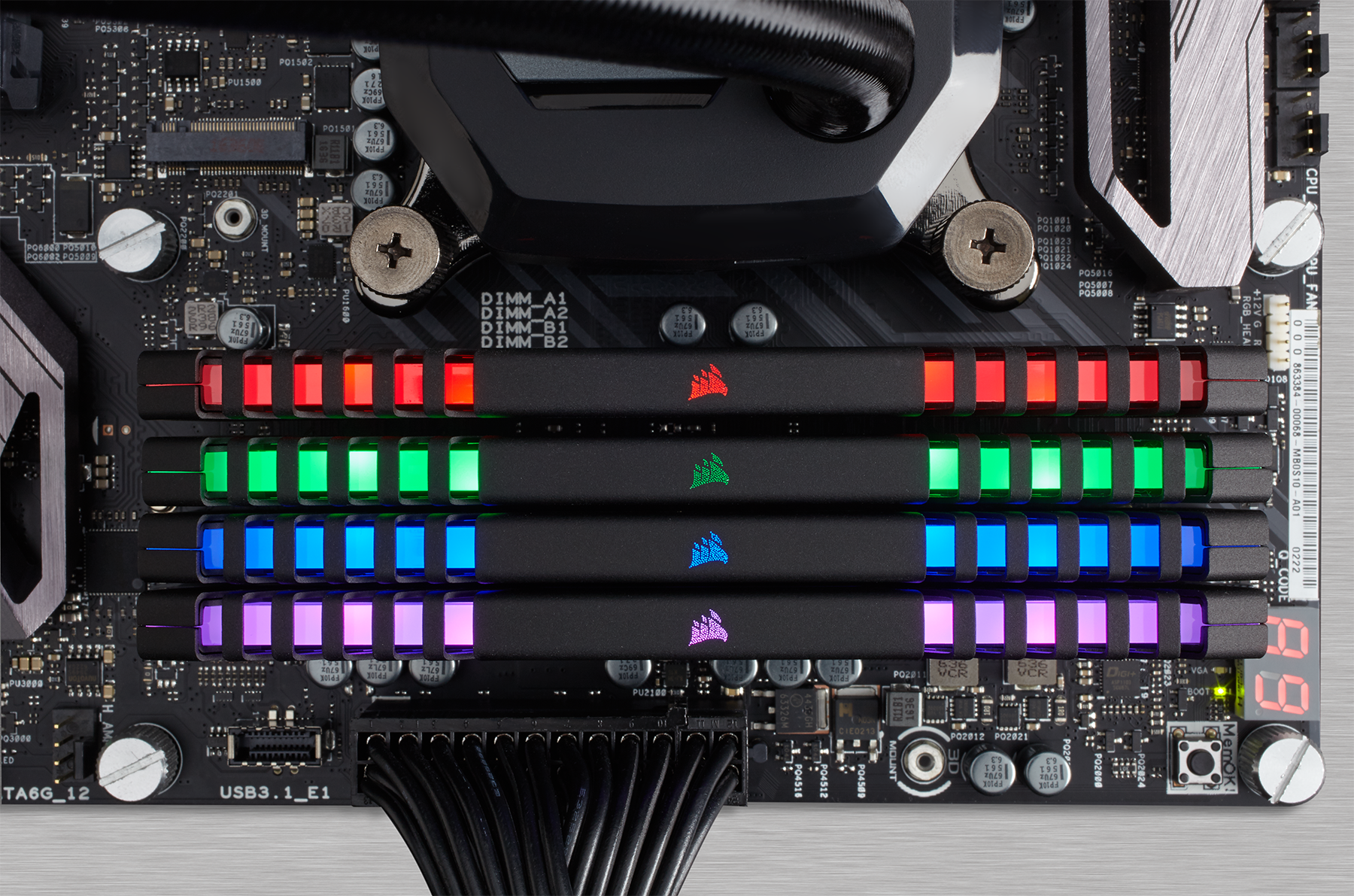 Corsair Vengeance RGB DDR4 Memory Modules with LEDs Now on Sale
