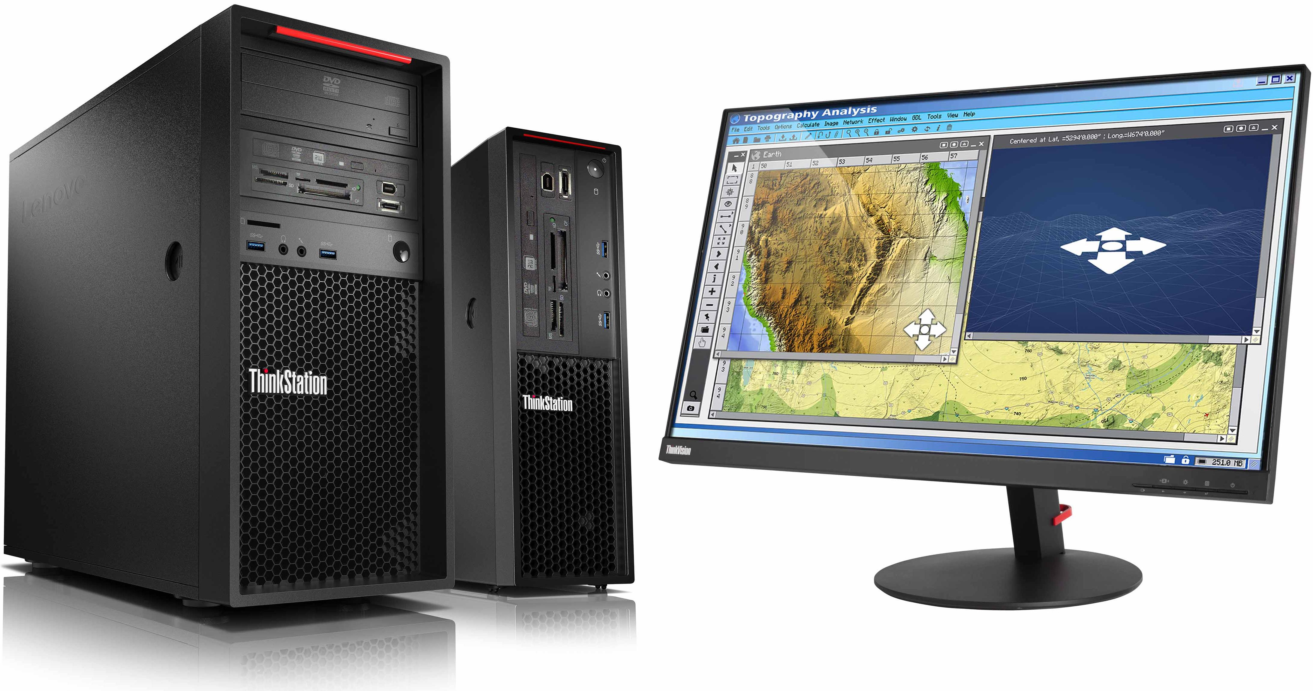 Lenovo Updates ThinkStation P320 with Intel Xeon E3 v6 and