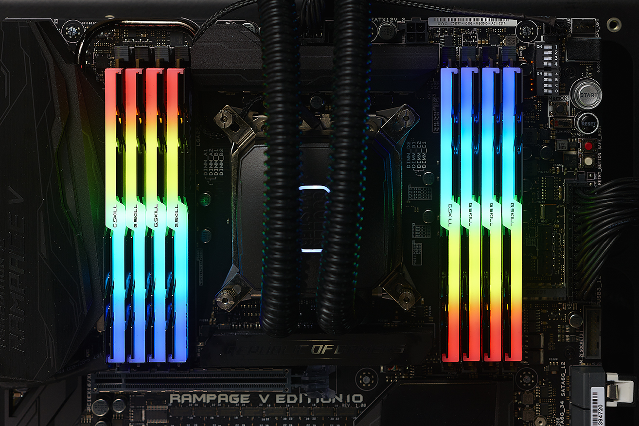 G Skill Announces Trident Z RGB DDR4 Kits with 16 GB Modules