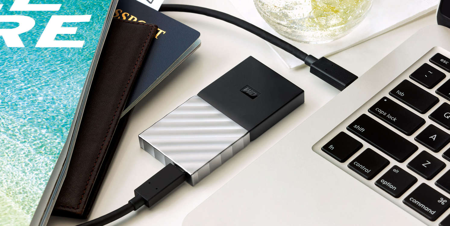 Western Digital Announces My Passport SSD: Up to 1 TB, AES