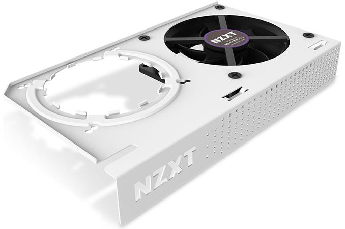 Matte Black NZXT Kraken G12 RL-KRG12-B1 GPU Bracket
