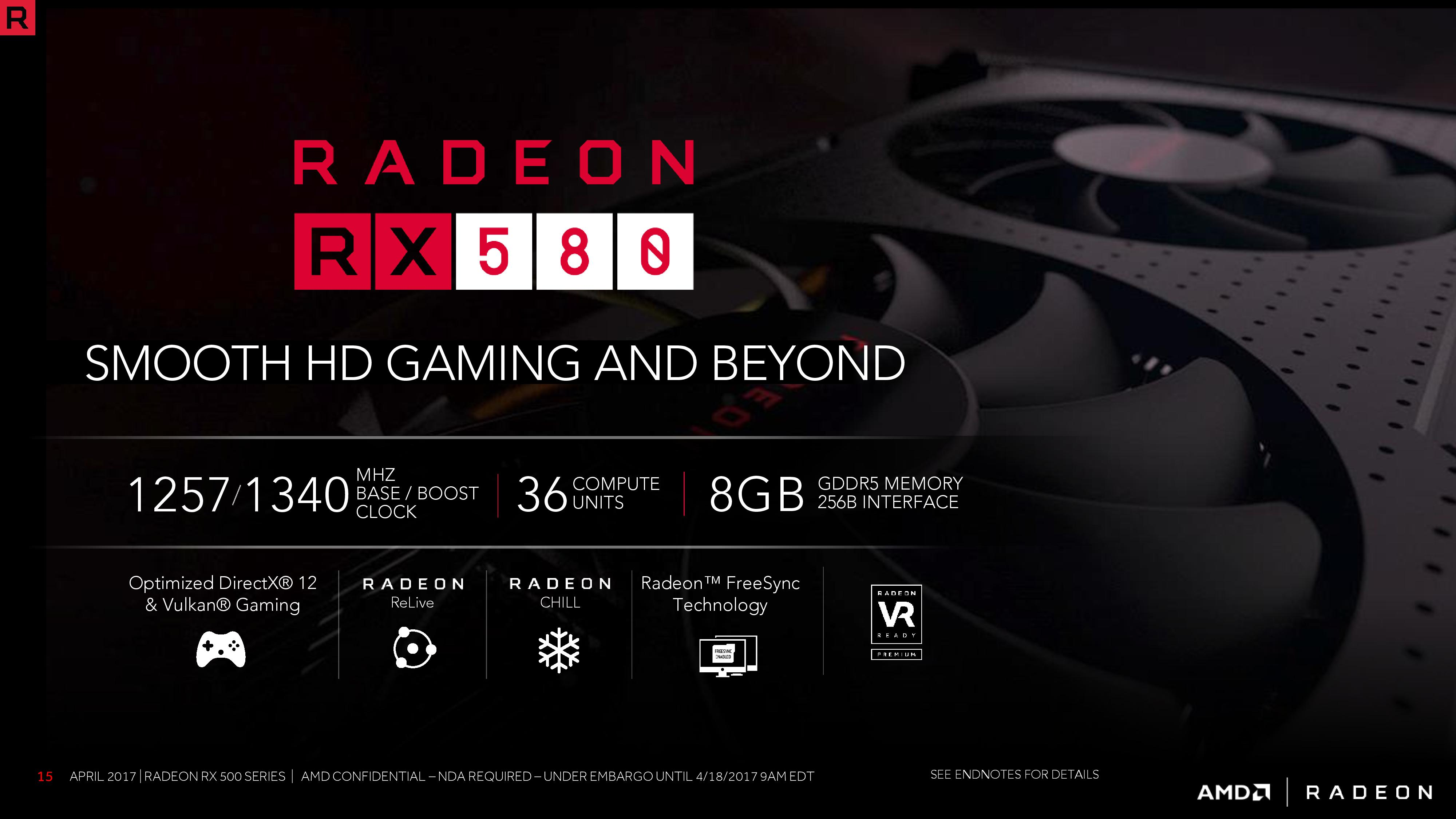 The AMD Radeon RX 580 & RX 570 Review: A Second Path to Polaris