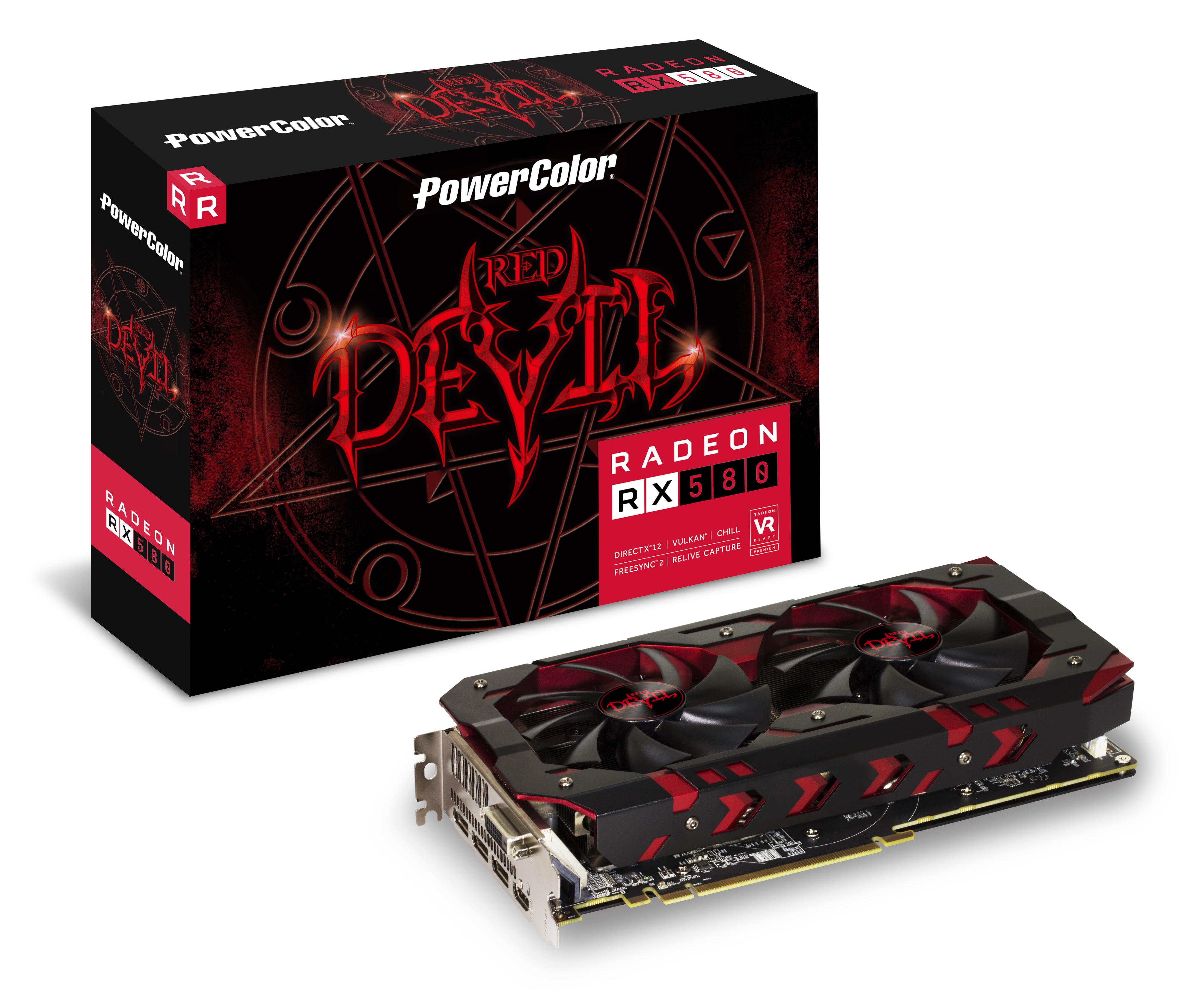 Sapphire Radeon RX 580 NITRO+ 4.0 GB OC High End graphics ...
