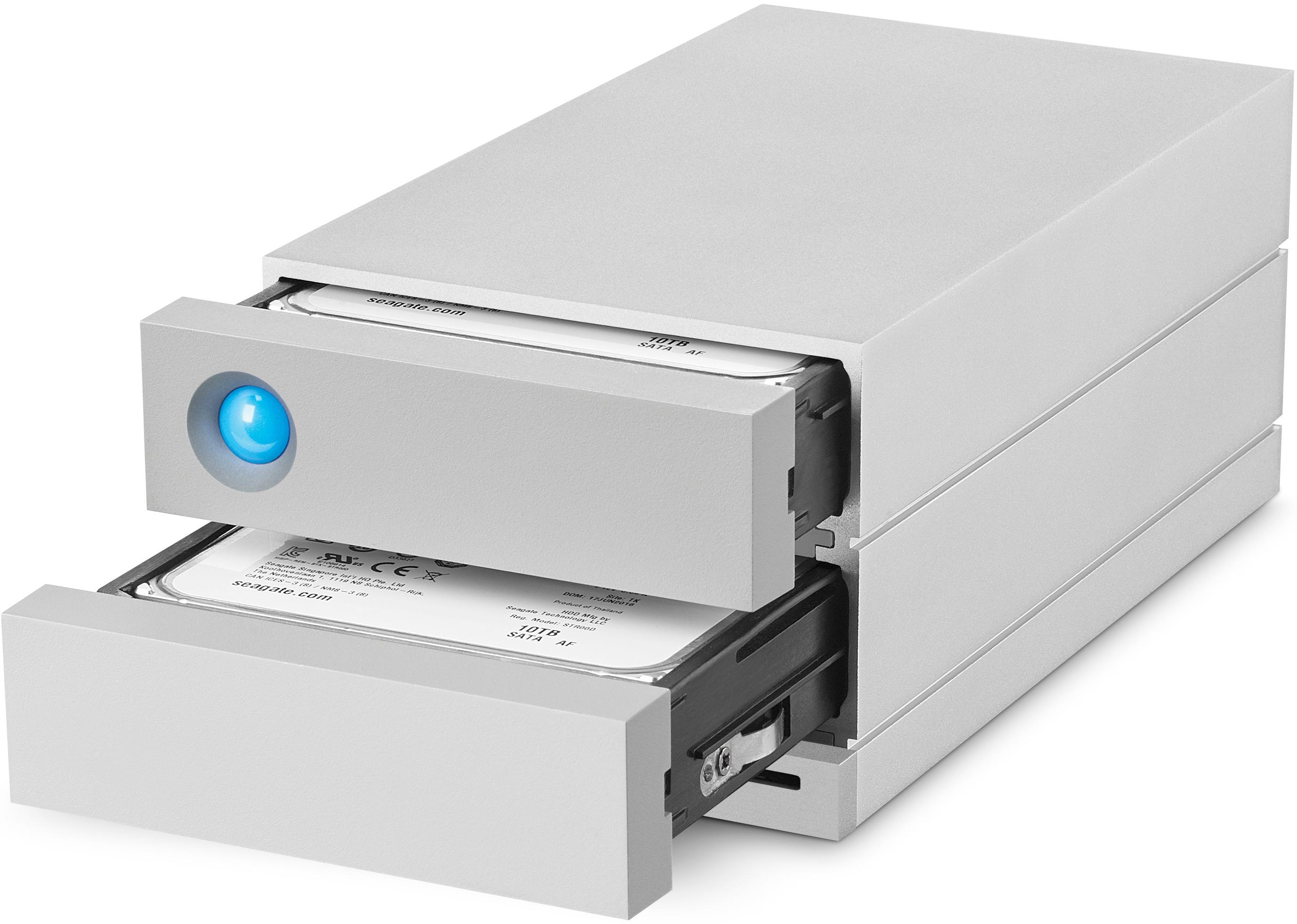 Lacie Announces 2big Dock 2 Bay Tb3 Das With Card Reader
