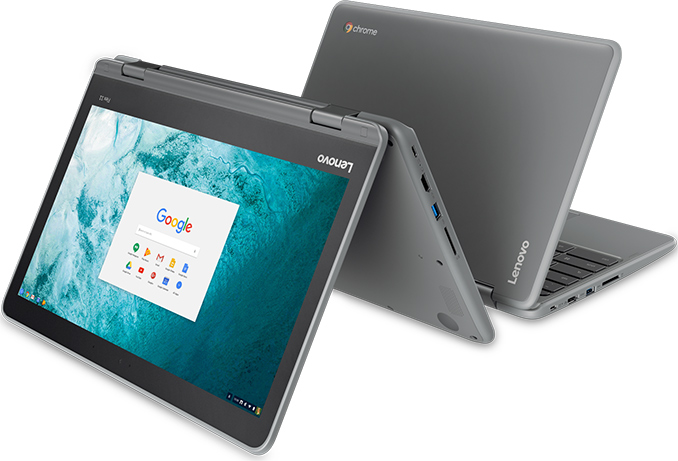 Lenovo Launches 2-in-1 Flex 11 Chromebook: Quad-Core SoC, 4 GB RAM