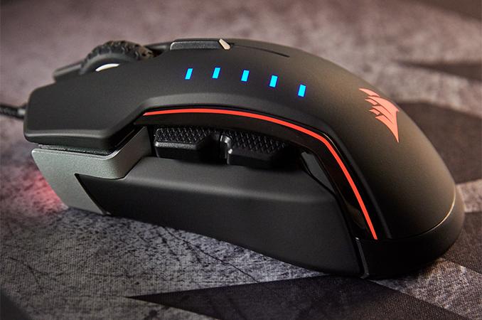 Corsair Launches Glaive RGB Mouse: 16,000 DPI
