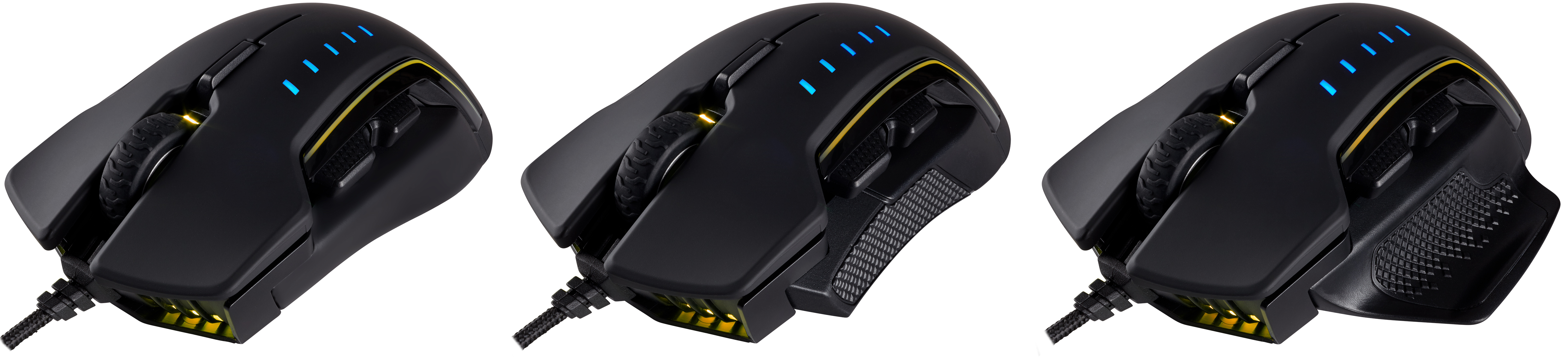 Corsair launches glaive rgb mouse 16 000 departamento de for Oficina de informacion