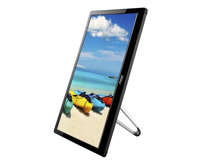 Aoc Releases The I1659fwux A 15 6 Inch 1080p Portable Usb Monitor