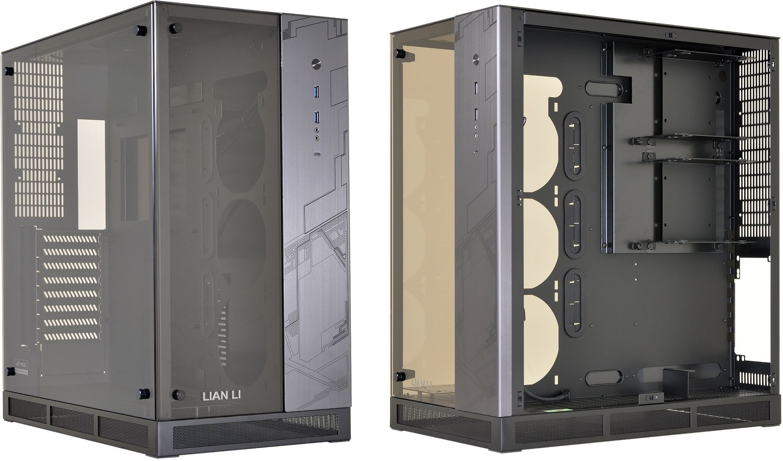 Lian Li Launches ASUS ROG-Inspired PC-O11WGX Case: Two Chambers, E ...