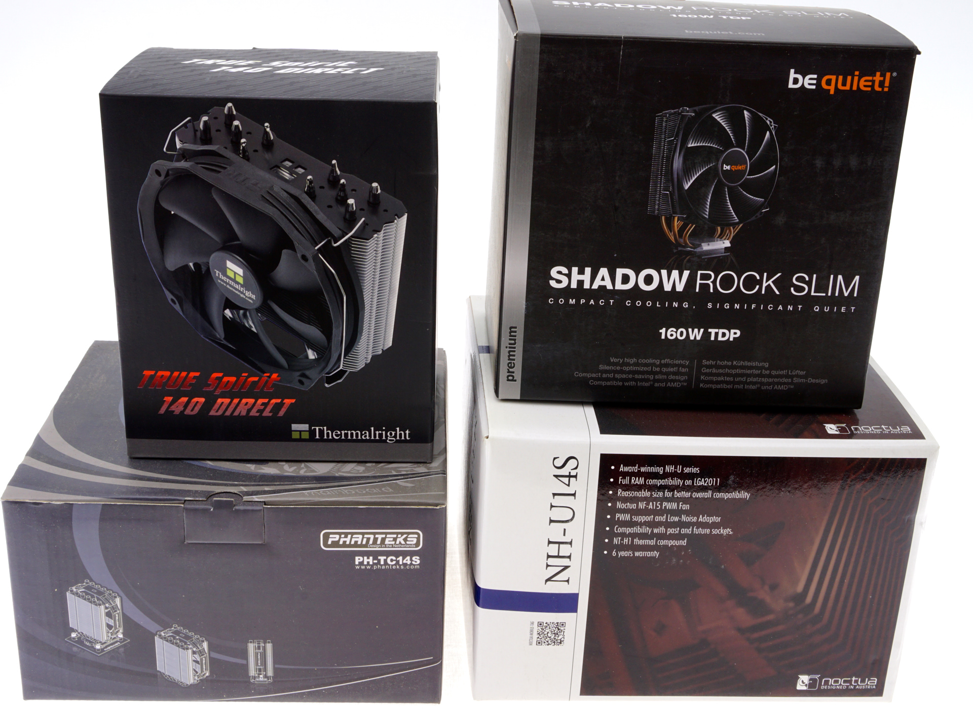 The 140mm Slim Tower CPU Cooler Roundup: Thin & Light Done