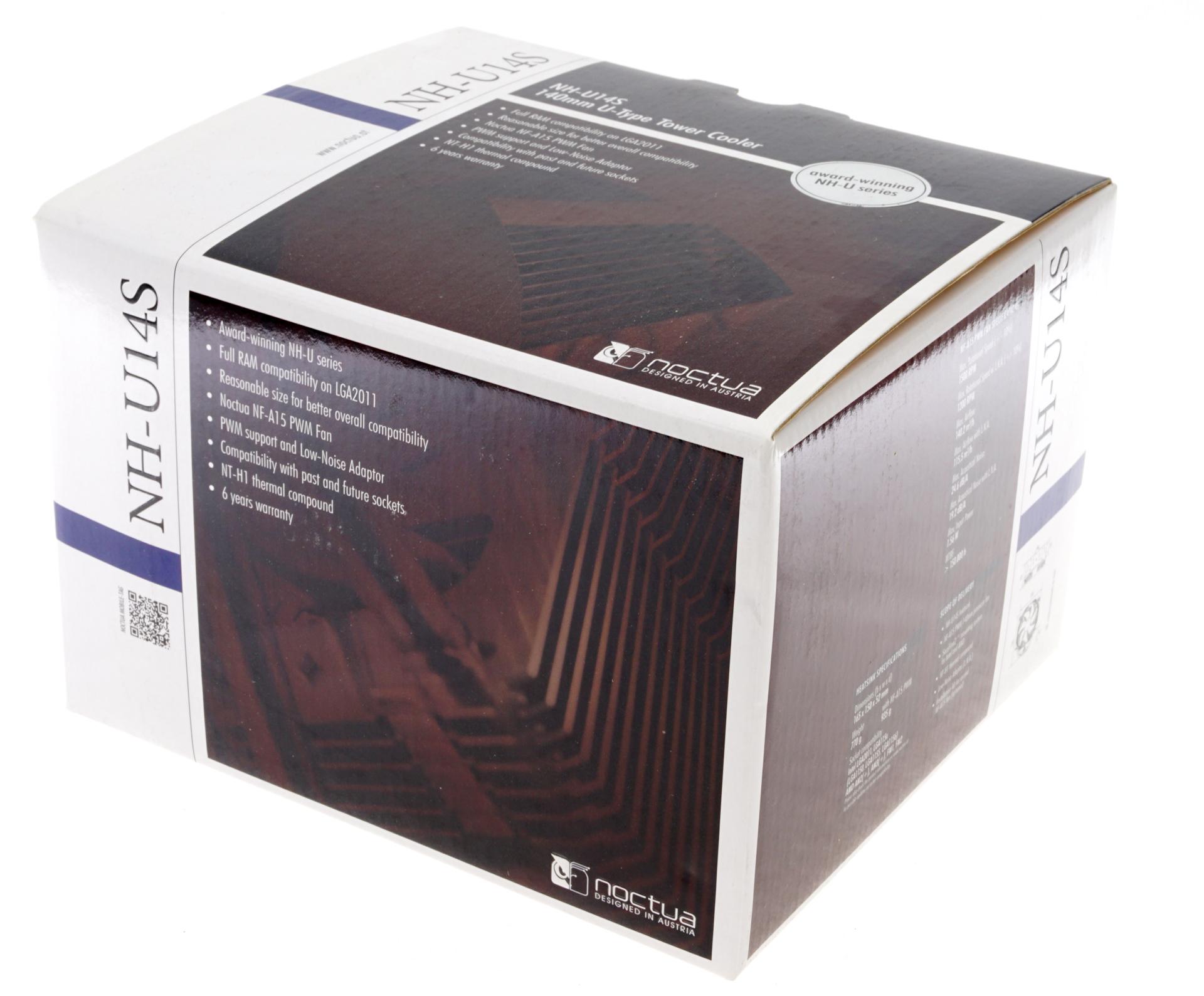 Noctua NH-U14S - The 140mm Slim Tower CPU Cooler Roundup