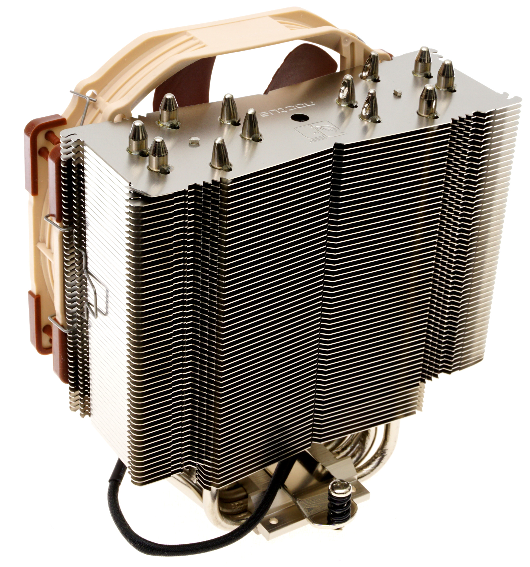 Noctua Nh U14s The 140mm Slim Tower Cpu Cooler Roundup Thin Makes Use Of Six Thick Heatpipes To Transfer Heat From Base Its Fin Array Each Heatpipe Expands Either Side
