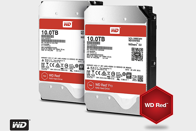 wd adds helium filled 10 tb nas hdds to wd red wd red pro lineups. Black Bedroom Furniture Sets. Home Design Ideas