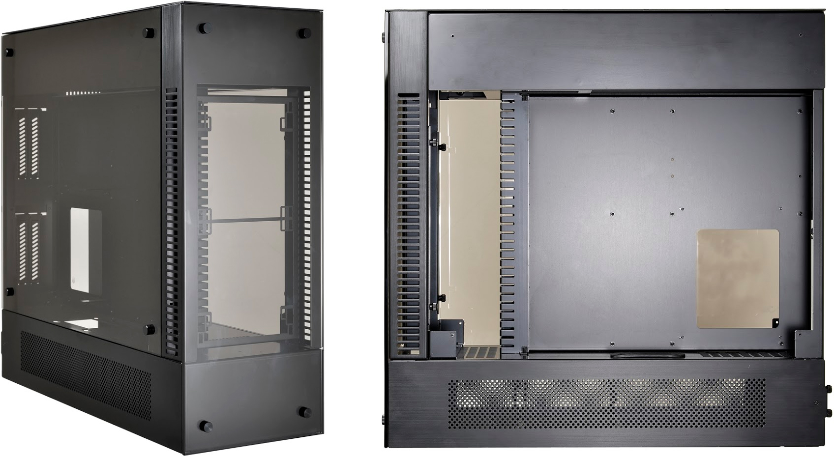 Lian Li Launches PC-O12 Mid-Tower: Three Chambers, E-ATX, LCS-Focused