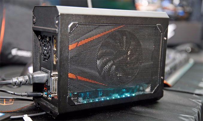Aorus Announces the GTX 1070 Gaming Box eGFX Adapter