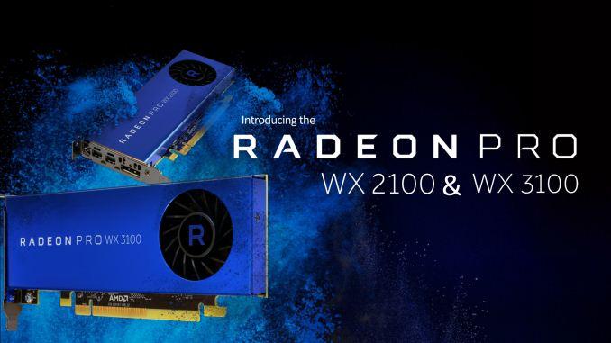 AMD Announces Radeon Pro WX 3100 & WX 2100: Entry-Level