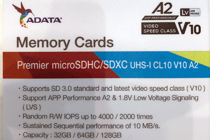 ADATA Demos A2-class microSD Card with 4K/2K IOPS Minimum, Mulls