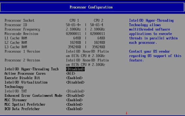 Testing Notes & Benchmark Configuration - Sizing Up Servers
