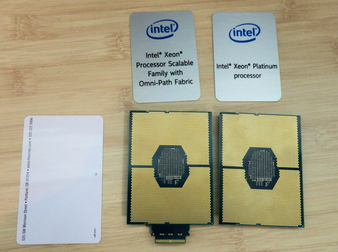 Intel Launches Skylake-SP for Servers With up-to 28 cores