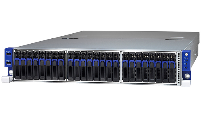 TYAN Announces AMD EPYC TN70A-B8026 Server: 1P, 16 DIMMs, 26 SSDs, OCuLink