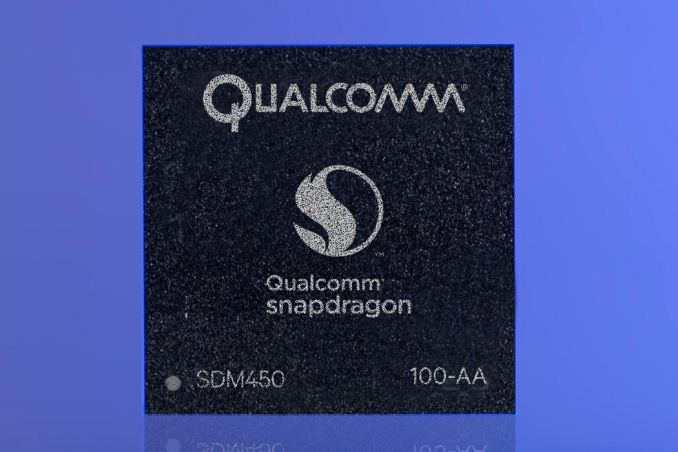 Qualcomm Announces Snapdragon 450 Midrange SoC