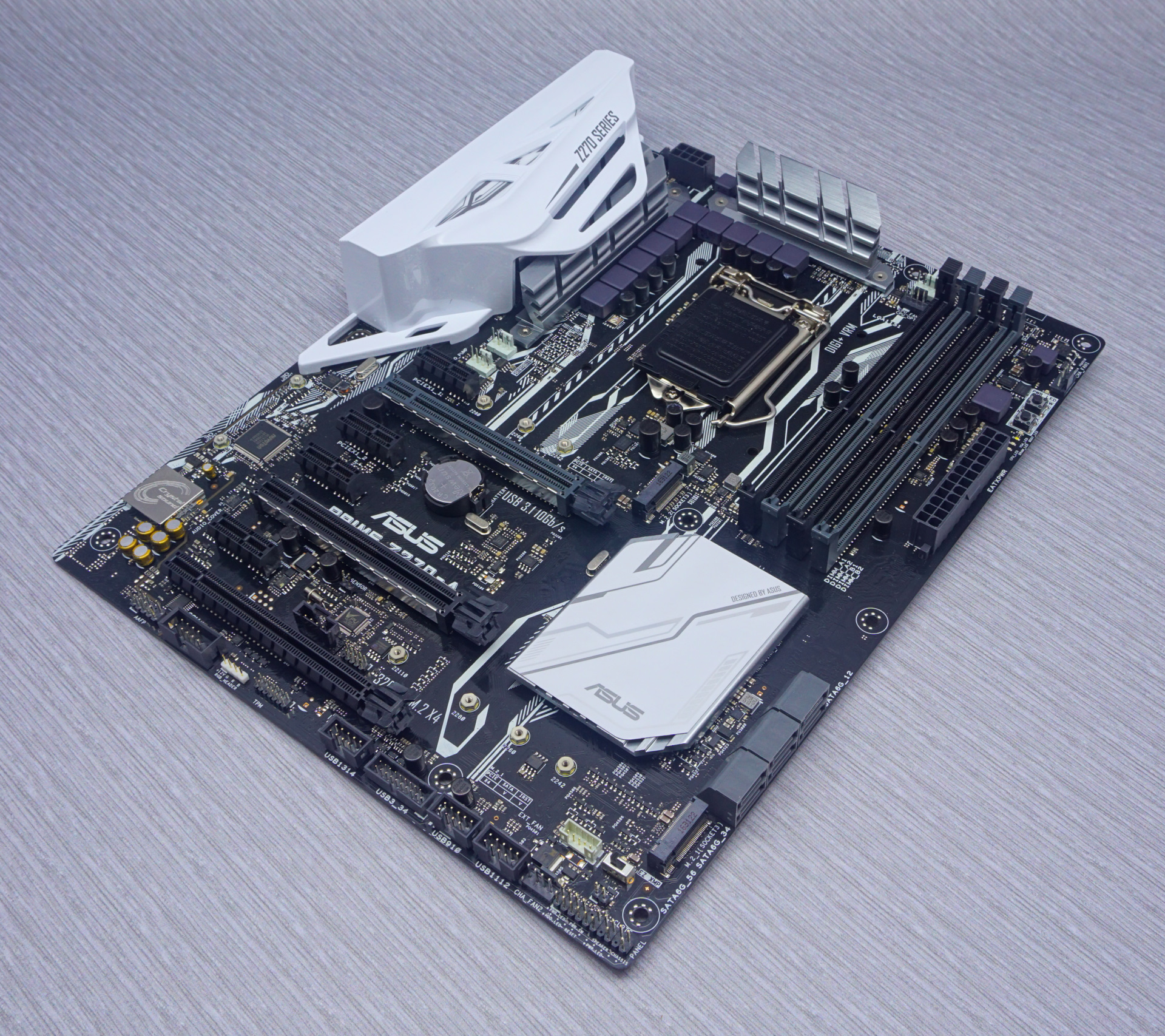 Asus Prime Z270-A Board Features, Visual Inspection - The