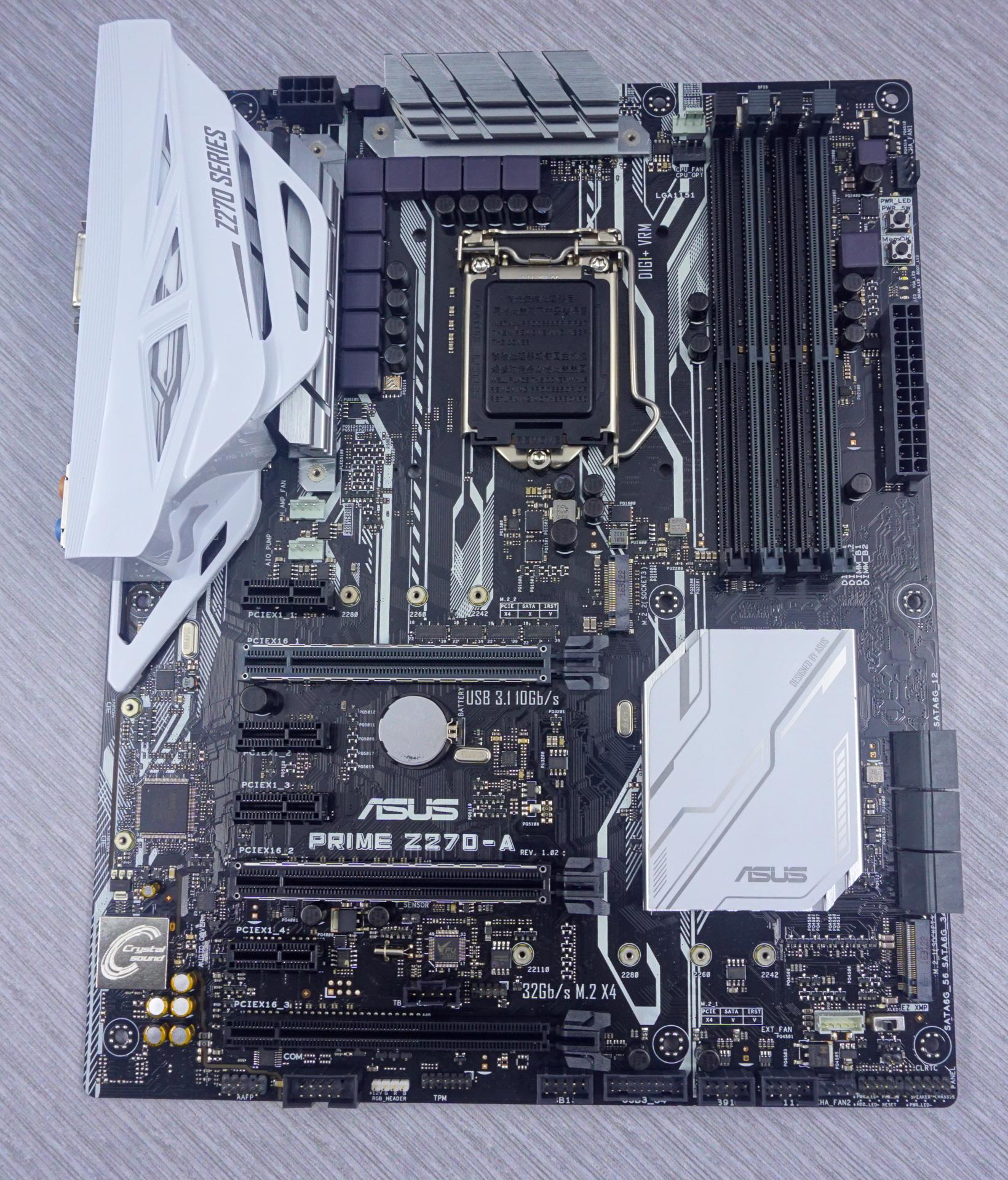 The Asus Prime Z270-A & GIGABYTE Z270X-Ultra Gaming