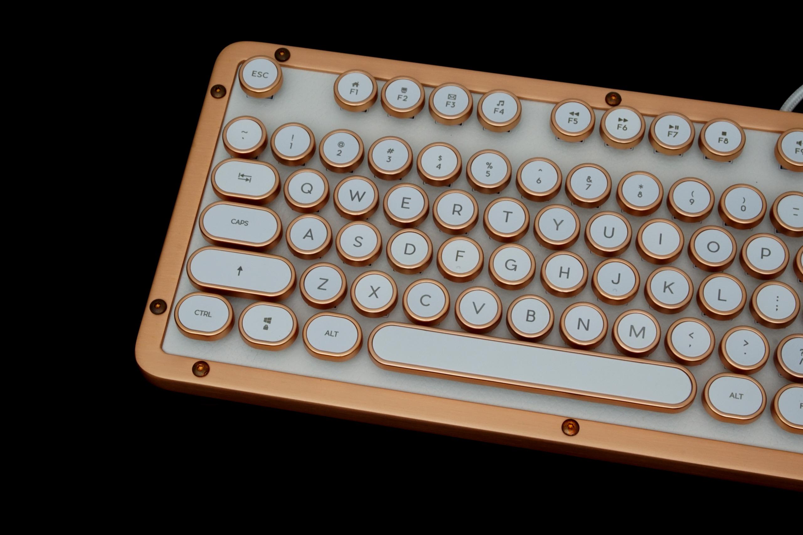The Azio Retro Classic Mechanical Keyboard - The Azio Retro
