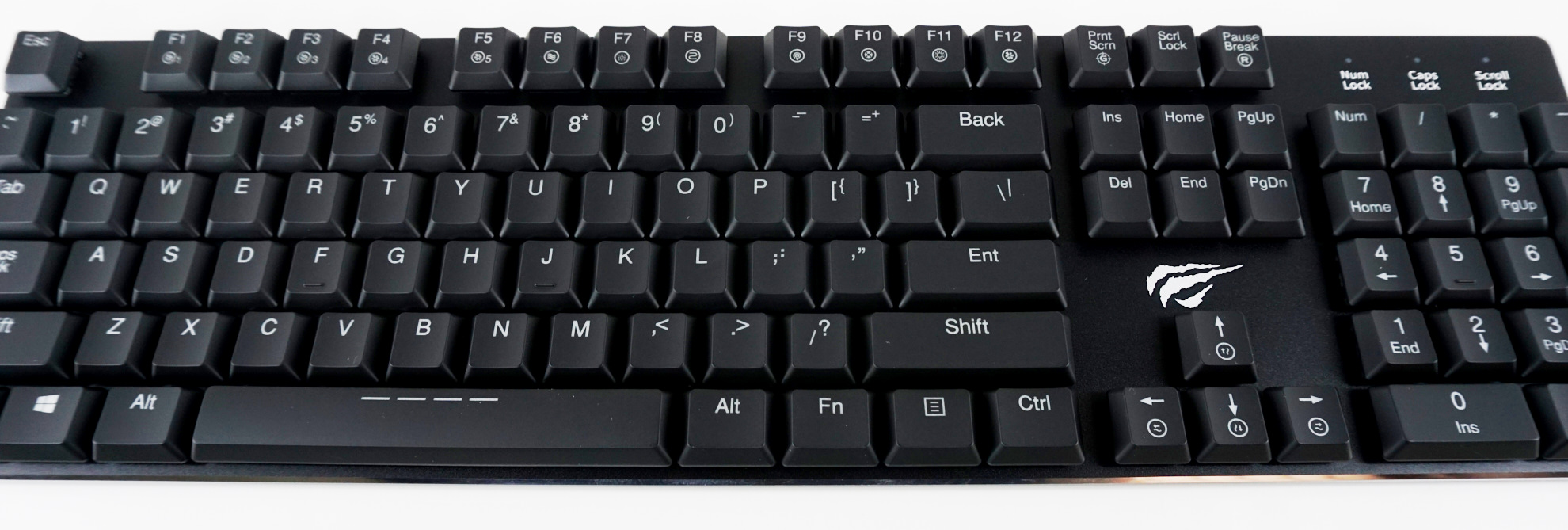 15a3e025794 The very few advanced functions that the keyboard has available by default  are accessible via keystroke combinations using the Fn key.