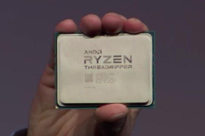 AMD Threadripper 1920X and 1950X CPU Details: 12/16 Cores, 4