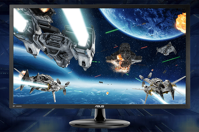 """ASUS Adds Entry-Level VP28UQG to Gaming LCD Lineup: 28"""", 4K"""