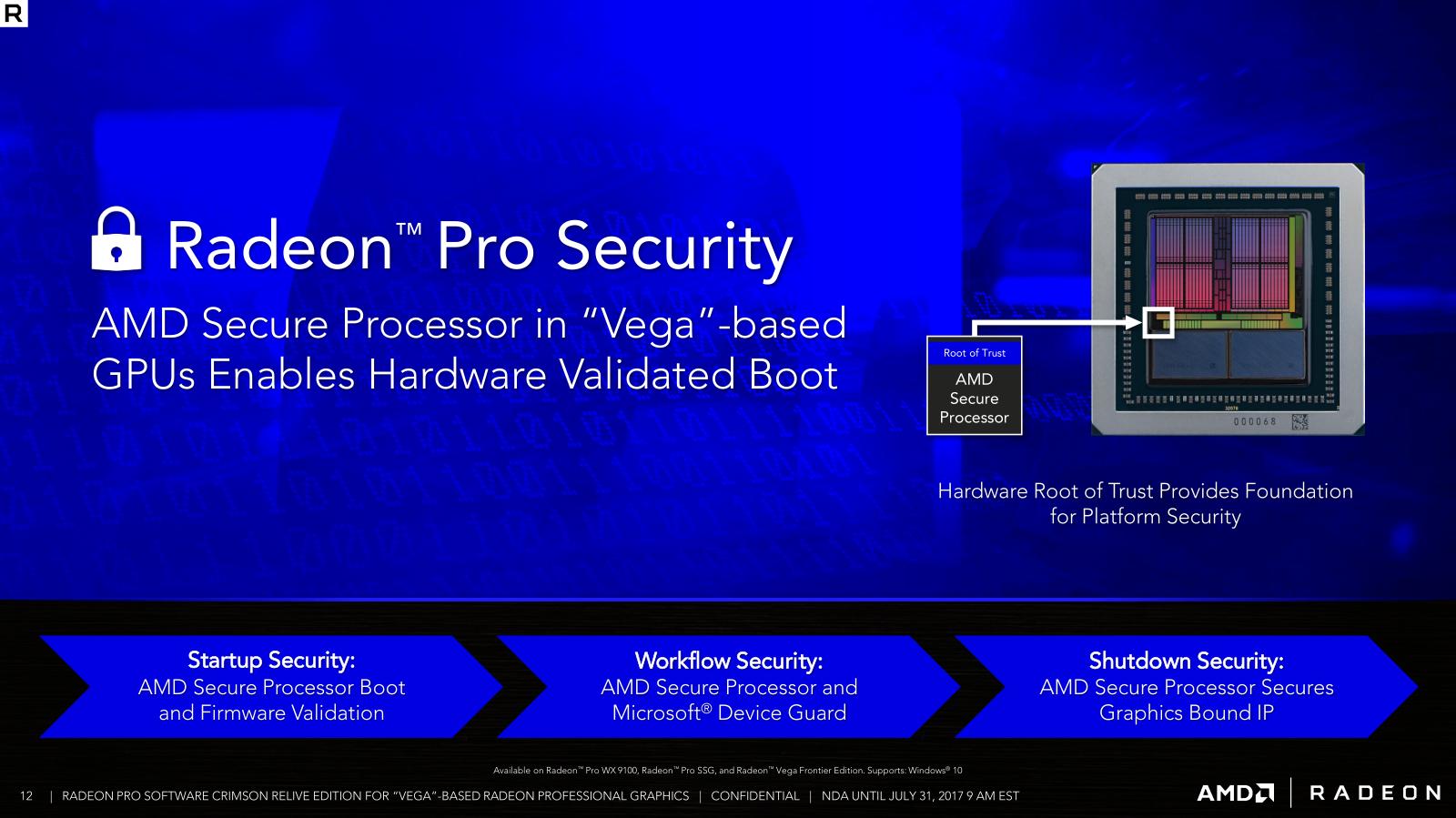 AMD Announces Radeon Pro Software for Vega: Crimson ReLive Edition